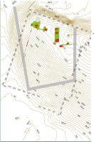 Cronica Cercetărilor Arheologice din România, Campania 2009. Raportul nr. 69, Scânteia, La Nuci (Dealul Bodeştilor)<br /><a href='http://foto.cimec.ro/cronica/2009/sistematice/069/scanteia-2-noua-ridicare-topografica-a-asezarii.jpg' target=_blank>Priveşte aceeaşi imagine într-o fereastră nouă</a>