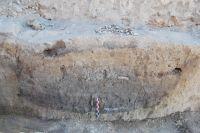 Cronica Cercetărilor Arheologice din România, Campania 2010. Raportul nr. 64, Sultana, Malu Roşu<br /><a href='http://foto.cimec.ro/cronica/2010/064/104216-03-Sultana-CL-bordei.JPG' target=_blank>Priveşte aceeaşi imagine într-o fereastră nouă</a>