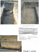 Chronicle of the Archaeological Excavations in Romania, 2011 Campaign. Report no. 1, Adamclisi, Cetate.<br /> Sector SECTOR A.<br /><a href='http://foto.cimec.ro/cronica/2011/001/SECTOR-A/plansa-5-sondaj.jpg' target=_blank>Display the same picture in a new window</a>