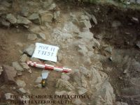 Chronicle of the Archaeological Excavations in Romania, 2011 Campaign. Report no. 45, Murighiol, La Cetate (Bataraia).<br /> Sector SECTOR-TURNUL-11.<br /><a href='http://foto.cimec.ro/cronica/2011/045/SECTOR-TURNUL-11/figura-4-s1-carou-8-emplecton.jpg' target=_blank>Display the same picture in a new window</a>