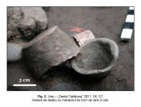 Chronicle of the Archaeological Excavations in Romania, 2011 Campaign. Report no. 87, Unip, Dealu Cetăţuica.<br /> Sector IMDA.<br /><a href='http://foto.cimec.ro/cronica/2011/087/IMDA/unip-imda-fig-2.jpg' target=_blank>Display the same picture in a new window</a>