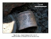 Chronicle of the Archaeological Excavations in Romania, 2011 Campaign. Report no. 87, Unip, Dealu Cetăţuica.<br /> Sector IMDA.<br /><a href='http://foto.cimec.ro/cronica/2011/087/IMDA/unip-imda-fig-5.jpg' target=_blank>Display the same picture in a new window</a>