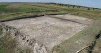 Chronicle of the Archaeological Excavations in Romania, 2011 Campaign. Report no. 91, Vitanesti, La Măgurice (Teleor 007)<br /><a href='http://foto.cimec.ro/cronica/2011/091/suprafata-cercetata-in-campania-2011-SX-H-L-1-5-M-R-1-5.jpg' target=_blank>Display the same picture in a new window</a>