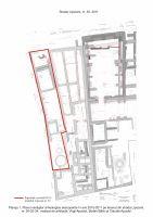 Chronicle of the Archaeological Excavations in Romania, 2011 Campaign. Report no. 101, Bucureşti, Punct: Centrul istoric - str. Stavropoleos, tronsonul dintre str. Smârdan şi str. Poştei<br /><a href='http://foto.cimec.ro/cronica/2011/101/1.jpg' target=_blank>Display the same picture in a new window</a>