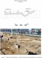 Chronicle of the Archaeological Excavations in Romania, 2011 Campaign. Report no. 102, Bucureşti, Piaţa Universităţii<br /><a href='http://foto.cimec.ro/cronica/2011/102/03.jpg' target=_blank>Display the same picture in a new window</a>