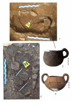 Chronicle of the Archaeological Excavations in Romania, 2011 Campaign. Report no. 106, Câmpina<br /><a href='http://foto.cimec.ro/cronica/2011/106/plansa-2-mormantul-37-mormantul-36-vas-din-m37-vas-din-m53.jpg' target=_blank>Display the same picture in a new window</a>