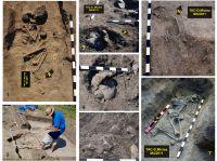 Cronica Cercetărilor Arheologice din România, Campania 2011. Raportul nr. 152, T&#259;cuta, Dealul Miclea (Paic)<br /><a href='http://foto.cimec.ro/cronica/2011/152/Fig-6-Tacuta-011-Complexe-funerare-jpg.jpg' target=_blank>Priveşte aceeaşi imagine într-o fereastră nouă</a>