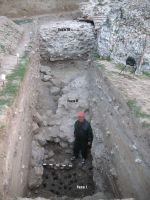 Chronicle of the Archaeological Excavations in Romania, 2012 Campaign. Report no. 26, Hârşova, La Cetate (Carsium)<br /><a href='http://foto.cimec.ro/cronica/2012/026-HARSOVA-CT-Cetate/s-ii-fazele-portului-antic.jpg' target=_blank>Display the same picture in a new window</a>