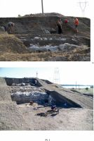 Chronicle of the Archaeological Excavations in Romania, 2012 Campaign. Report no. 28, Isaccea, La Pontonul Vechi (Cetate, Eski-kale).<br /> Sector planse-IMDA.<br /><a href='http://foto.cimec.ro/cronica/2012/028-ISACCEA-TL-Noviodunum/pl-1.jpg' target=_blank>Display the same picture in a new window</a>