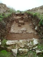 Chronicle of the Archaeological Excavations in Romania, 2014 Campaign. Report no. 2, Adamclisi, Cetate.<br /> Sector Sector B_Scurtu Ctin.<br /><a href='http://foto.cimec.ro/cronica/2014/002-Adamclisi-SectorB/fig-08-sg5-vedere-generala.JPG' target=_blank>Display the same picture in a new window</a>