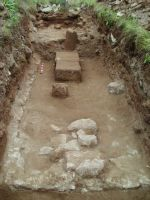 Chronicle of the Archaeological Excavations in Romania, 2014 Campaign. Report no. 2, Adamclisi, Cetate.<br /> Sector Sector B_Scurtu Ctin.<br /><a href='http://foto.cimec.ro/cronica/2014/002-Adamclisi-SectorB/fig-09-sg5-vedere-generala.JPG' target=_blank>Display the same picture in a new window</a>