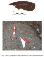 Chronicle of the Archaeological Excavations in Romania, 2014 Campaign. Report no. 7, Alba Iulia, Sediul guvernatorului consular (Mithraeum III)<br /><a href='http://foto.cimec.ro/cronica/2014/007-Alba-Iulia-Palatulguvernatorului/ilustratie-fotografica-apulum-2014-page-28.jpg' target=_blank>Display the same picture in a new window</a>