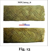 Chronicle of the Archaeological Excavations in Romania, 2014 Campaign. Report no. 124, Isaccea, La Pontonul Vechi (Cetate, Eski-kale).<br /> Sector planse-IMDA.<br /><a href='http://foto.cimec.ro/cronica/2014/124-Isaccea/nov-fig-13.jpg' target=_blank>Display the same picture in a new window</a>