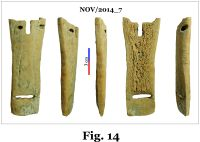 Chronicle of the Archaeological Excavations in Romania, 2014 Campaign. Report no. 124, Isaccea, La Pontonul Vechi (Cetate, Eski-kale).<br /> Sector planse-IMDA.<br /><a href='http://foto.cimec.ro/cronica/2014/124-Isaccea/nov-fig-14.jpg' target=_blank>Display the same picture in a new window</a>