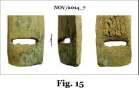 Chronicle of the Archaeological Excavations in Romania, 2014 Campaign. Report no. 124, Isaccea, La Pontonul Vechi (Cetate, Eski-kale).<br /> Sector planse-IMDA.<br /><a href='http://foto.cimec.ro/cronica/2014/124-Isaccea/nov-fig-15.jpg' target=_blank>Display the same picture in a new window</a>
