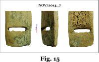 Cronica Cercetărilor Arheologice din România, Campania 2014. Raportul nr. 124, Isaccea, La Pontonul Vechi (Cetate, Eski-kale).<br /> Sectorul planse IMDA.<br /><a href='http://foto.cimec.ro/cronica/2014/124-Isaccea/nov-fig-15.jpg' target=_blank>Priveşte aceeaşi imagine într-o fereastră nouă</a>