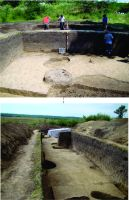 Chronicle of the Archaeological Excavations in Romania, 2014 Campaign. Report no. 128, Negrileşti, Şcoala Generală (La Punte, Pin, Curtea Şcolii).<br /> Sector plansa IMDA.<br /><a href='http://foto.cimec.ro/cronica/2014/128-Negrilesti/plansa-14.jpg' target=_blank>Display the same picture in a new window</a>