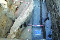 Chronicle of the Archaeological Excavations in Romania, 2014 Campaign. Report no. 149, Timişoara, Centrul istoric<br /><a href='http://foto.cimec.ro/cronica/2014/149-Timisoara/3-TM-blaga.JPG' target=_blank>Display the same picture in a new window</a>