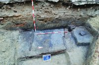 Chronicle of the Archaeological Excavations in Romania, 2014 Campaign. Report no. 149, Timişoara, Centrul istoric<br /><a href='http://foto.cimec.ro/cronica/2014/149-Timisoara/6-TM-blaga.JPG' target=_blank>Display the same picture in a new window</a>