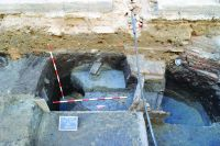 Chronicle of the Archaeological Excavations in Romania, 2014 Campaign. Report no. 149, Timişoara, Centrul istoric<br /><a href='http://foto.cimec.ro/cronica/2014/149-Timisoara/9-TM-blaga.JPG' target=_blank>Display the same picture in a new window</a>