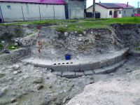 Chronicle of the Archaeological Excavations in Romania, 2015 Campaign. Report no. 16, Hârşova, La Cetate (Carsium)<br /><a href='http://foto.cimec.ro/cronica/2015/016-Harsova-Carsium/turnul-t-2.jpg' target=_blank>Display the same picture in a new window</a>