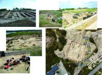 Chronicle of the Archaeological Excavations in Romania, 2015 Campaign. Report no. 83, Capidava, Cetate.<br /> Sector 06-ilustratie sector X.<br /><a href='http://foto.cimec.ro/cronica/2015/083-Capidava/pl-2-extramuros-imagini-de-ansamblu-asupra-cercetarilor-arh.jpg' target=_blank>Display the same picture in a new window</a>