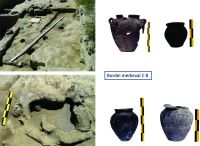 Chronicle of the Archaeological Excavations in Romania, 2015 Campaign. Report no. 83, Capidava, Cetate.<br /> Sector 06-ilustratie sector X.<br /><a href='http://foto.cimec.ro/cronica/2015/083-Capidava/pl-8-extramuros-locuinta-medievala-c8.jpg' target=_blank>Display the same picture in a new window</a>