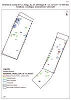 Cronica Cercetărilor Arheologice din România, Campania 2015. Raportul nr. 106, Iezureni, km 12+850-12+980 Est (Sit 3)<br /><a href='http://foto.cimec.ro/cronica/2015/106-Targu-Jiu/pl-8-harta-10.jpg' target=_blank>Priveşte aceeaşi imagine într-o fereastră nouă</a>