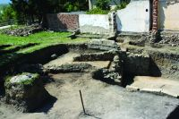 Chronicle of the Archaeological Excavations in Romania, 2015 Campaign. Report no. 134, Drobeta-Turnu Severin, str. Independenţei nr. 2<br /><a href='http://foto.cimec.ro/cronica/2015/134-Drobeta-Turnu-Severin-Amfiteatrul/fig-4.jpg' target=_blank>Display the same picture in a new window</a>
