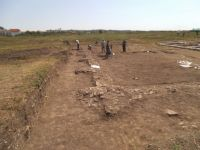 Chronicle of the Archaeological Excavations in Romania, 2015 Campaign. Report no. 136, Răcarii De Jos<br /><a href='http://foto.cimec.ro/cronica/2015/136-Racarii-de-Jos-Castrul/DSCF4221.JPG' target=_blank>Display the same picture in a new window</a>