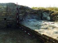 Chronicle of the Archaeological Excavations in Romania, 2016 Campaign. Report no. 51, Murighiol, La Cetate (Bataraia).<br /> Sector Murghiol_jud.Tulcea_Halmyris_LaCetate.<br /><a href='http://foto.cimec.ro/cronica/2016/051-Murighiol-TL-Punct-Halmyris-La-Cetate/Murghiol-jud-Tulcea-Halmyris-LaCetate/fig-2-aspecte-de-sapatura.jpg' target=_blank>Display the same picture in a new window</a>