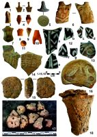 Cronica Cercetărilor Arheologice din România, Campania 2016. Raportul nr. 76, Tăcuta, Dealul Miclea (Paic)<br /><a href='http://foto.cimec.ro/cronica/2016/076-Tacuta-VS-Punct-Dealul-Miclea-Paic/fig-6-tacuta-017-pottery-artefacts.jpg' target=_blank>Priveşte aceeaşi imagine într-o fereastră nouă</a>