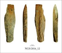 Chronicle of the Archaeological Excavations in Romania, 2016 Campaign. Report no. 109, Negrileşti, Şcoala Generală (La Punte, Pin, Curtea Şcolii).<br /> Sector 2. Industria materiilor dure animale.<br /><a href='http://foto.cimec.ro/cronica/2016/109-Negrilesti-GL-Punct-Negrilesti-Curtea-scolii/2-Industria-materiilor-dure-animale/12.jpg' target=_blank>Display the same picture in a new window</a>