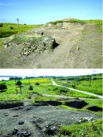 Chronicle of the Archaeological Excavations in Romania, 2017 Campaign. Report no. 26, Isaccea, La Pontonul Vechi (Cetate, Eski-kale).<br /> Sector planse-IMDA.<br /><a href='http://foto.cimec.ro/cronica/2017/01-Cercetari-sistematice/026-Turnul-de-Colt-Intramuros/pl-3.jpg' target=_blank>Display the same picture in a new window</a>