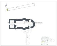 Chronicle of the Archaeological Excavations in Romania, 2017 Campaign. Report no. 72, Vânători-Neamţ, Fostul Schit Nifon<br /><a href='http://foto.cimec.ro/cronica/2017/01-Cercetari-sistematice/072-Vanatori-Neamt-jud-Neamt-1/fig-1-vechiul-schit-nifon-plan-sector-biserica.jpg' target=_blank>Display the same picture in a new window</a>