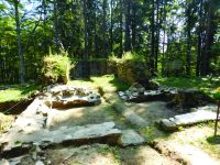 Chronicle of the Archaeological Excavations in Romania, 2017 Campaign. Report no. 72, Vânători-Neamţ, Fostul Schit Nifon<br /><a href='http://foto.cimec.ro/cronica/2017/01-Cercetari-sistematice/072-Vanatori-Neamt-jud-Neamt-1/fig-3-pridvorul-bisericii-dupa-conservare.JPG' target=_blank>Display the same picture in a new window</a>
