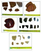 Chronicle of the Archaeological Excavations in Romania, 2017 Campaign. Report no. 72, Vânători-Neamţ, Fostul Schit Nifon<br /><a href='http://foto.cimec.ro/cronica/2017/01-Cercetari-sistematice/072-Vanatori-Neamt-jud-Neamt-1/fig-5-fragmente-ceramice-recuperate-din-s-5-si-c-4.jpg' target=_blank>Display the same picture in a new window</a>