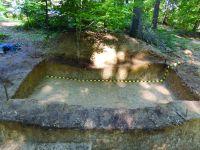 Chronicle of the Archaeological Excavations in Romania, 2017 Campaign. Report no. 72, Vânători-Neamţ, Fostul Schit Nifon<br /><a href='http://foto.cimec.ro/cronica/2017/01-Cercetari-sistematice/072-Vanatori-Neamt-jud-Neamt-1/fig-6-sector-chilii-c-4-profilul-estic.JPG' target=_blank>Display the same picture in a new window</a>