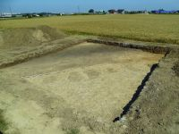 Chronicle of the Archaeological Excavations in Romania, 2017 Campaign. Report no. 79, Constanţa, Zona comercială Real 2 - Black Sea.<br /> Sector ilustratie_CT_Metrosenzor.<br /><a href='http://foto.cimec.ro/cronica/2017/02-Cercetari-preventive/079-2-CT-Metrosenzor/ilustratie-CT-Metrosenzor/4-vedere-catre-e.JPG' target=_blank>Display the same picture in a new window</a>