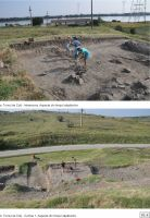 Chronicle of the Archaeological Excavations in Romania, 2018 Campaign. Report no. 29, Isaccea, La Pontonul Vechi (Cetate, Eski-kale).<br /> Sector planse-IMDA.<br /><a href='http://foto.cimec.ro/cronica/2018/1-sistematice/029-Isaccea-Noviodunum-TL-s/pl-4.jpg' target=_blank>Display the same picture in a new window</a>