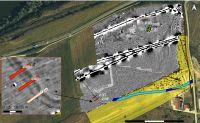 Cronica Cercetărilor Arheologice din România, Campania 2018. Raportul nr. 77, Tărtăria, Podul Tărtăriei vest/ Autostrada Orăştie-Sibiu, lot 1, Sit 7, km 14+100-14+540 (Valea Rea)<br /><a href='http://foto.cimec.ro/cronica/2018/1-sistematice/077-Tartaria-Podu-AB-s/fig-1tptv18-plancercetari.jpg' target=_blank>Priveşte aceeaşi imagine într-o fereastră nouă</a>