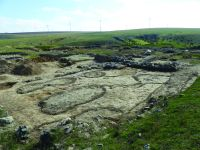 Chronicle of the Archaeological Excavations in Romania, 2019 Campaign. Report no. 55, Pantelimon, Cetate<br /><a href='http://foto.cimec.ro/cronica/2019/01-sistematice/055-pantelimonul-de-sus-ct-ulmetum-s/5-sector-sud-bazilica-conturari-complexe-suprafata-l-41-45.JPG' target=_blank>Display the same picture in a new window</a>