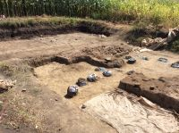 Chronicle of the Archaeological Excavations in Romania, 2019 Campaign. Report no. 69, Scânteia, La Nuci (Dealul Bodeştilor).<br /> Sector Rezerve.<br /><a href='http://foto.cimec.ro/cronica/2019/01-sistematice/069-scanteia-is-lanucidealbodesti-s/Rezerve/img-1450.jpg' target=_blank>Display the same picture in a new window</a>. Title: Rezerve