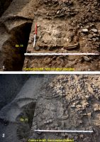 Chronicle of the Archaeological Excavations in Romania, 2019 Campaign. Report no. 76, Tăcuta, Dealul Miclea (Paic)<br /><a href='http://foto.cimec.ro/cronica/2019/01-sistematice/076-tacuta-vs-dealul-miclea-paic-vaslui-s/fig-4-tacuta-vatra-cuptor.jpg' target=_blank>Display the same picture in a new window</a>