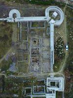 Chronicle of the Archaeological Excavations in Romania, 2019 Campaign. Report no. 81, Capidava, Cetate.<br /> Sector ilustratie-sector-est-cca-2020.<br /><a href='http://foto.cimec.ro/cronica/2019/01-sistematice/081-topalu-ct-capidava-s/ilustratie-sector-est-cca-2020/fig-3-vedere-aeriana-asupra-sectorului-de-est-la-debutul-campaniei-2019.JPG' target=_blank>Display the same picture in a new window</a>. Title: ilustratie-sector-est-cca-2020