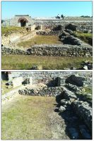 Chronicle of the Archaeological Excavations in Romania, 2019 Campaign. Report no. 81, Capidava, Cetate.<br /> Sector ilustratie-sector-est-cca-2020.<br /><a href='http://foto.cimec.ro/cronica/2019/01-sistematice/081-topalu-ct-capidava-s/ilustratie-sector-est-cca-2020/fig-5-edificiul-e-2-la-debutul-cercetarii-arheologice.jpg' target=_blank>Display the same picture in a new window</a>. Title: ilustratie-sector-est-cca-2020