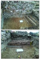 Chronicle of the Archaeological Excavations in Romania, 2019 Campaign. Report no. 81, Capidava, Cetate.<br /> Sector ilustratie-sector-est-cca-2020.<br /><a href='http://foto.cimec.ro/cronica/2019/01-sistematice/081-topalu-ct-capidava-s/ilustratie-sector-est-cca-2020/fig-8-incaperea-c8a-nivelari-succesive-peste-canalul-deversor-c1.jpg' target=_blank>Display the same picture in a new window</a>. Title: ilustratie-sector-est-cca-2020