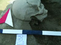 Chronicle of the Archaeological Excavations in Romania, 2019 Campaign. Report no. 81, Capidava, Sector X -Terme şi Necropole.<br /> Sector ilustratie-sector-x-necropola-cca-2020.<br /><a href='http://foto.cimec.ro/cronica/2019/01-sistematice/081-topalu-ct-capidava-s/ilustratie-sector-x-necropola-cca-2020/fig-18-m-38-detaliu-cu-cercel-in-situ.JPG' target=_blank>Display the same picture in a new window</a>. Title: ilustratie-sector-x-necropola-cca-2020